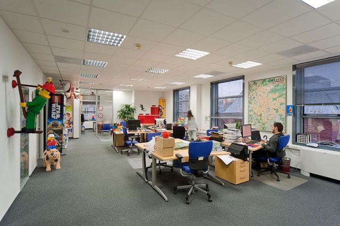 Лучшие офисы мира (58 фото)