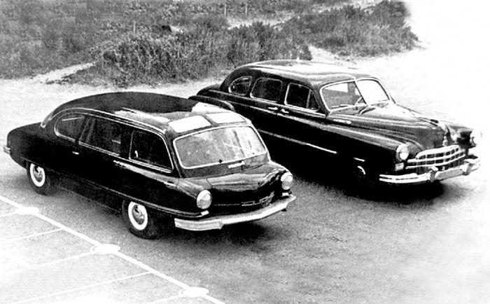Автомобильные концепты времен СССР (23 фото)