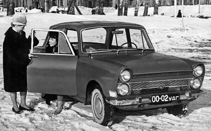 Автомобильные концепты времен СССР. Часть 2 (13 фото)