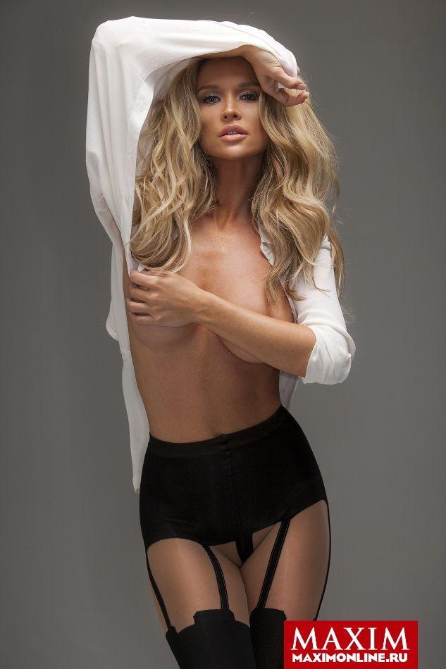 Лучшие фотосессии привлекательных девушек из журнала Maxim (19 фото)