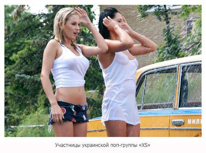 Засветы известных девушек (24 фото)