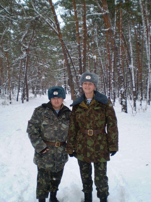 Девушки из украинской армии (35 фото)