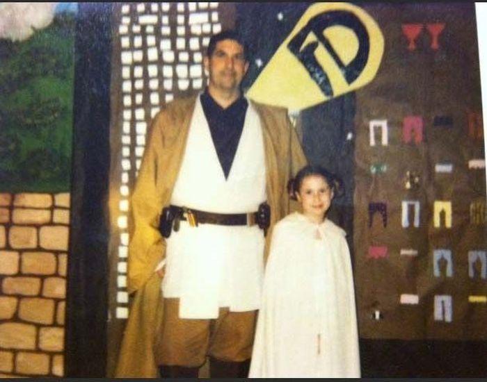 Трогательная история отца и дочери (10 фото)