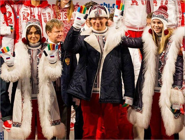 Спортивные костюмы разных стран на Олимпиаде в Сочи (22 фото)