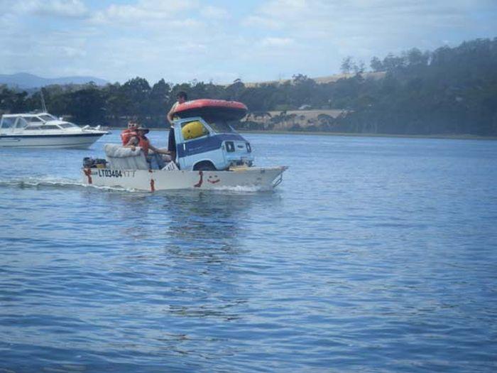 Яхта своими руками (17 фото)