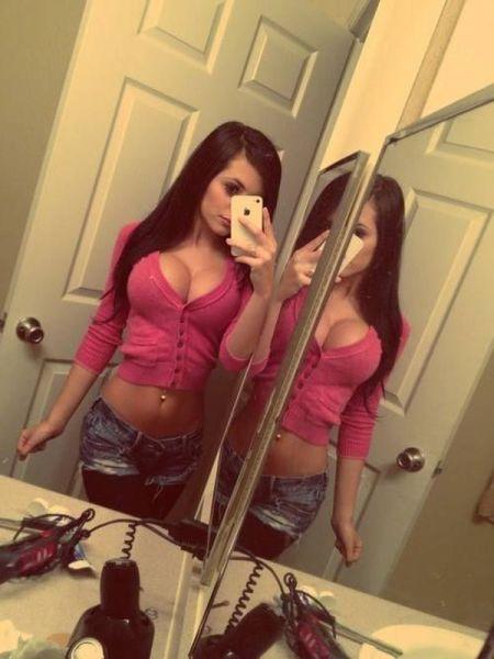 Красивые девушки с большой грудью (52 фото)
