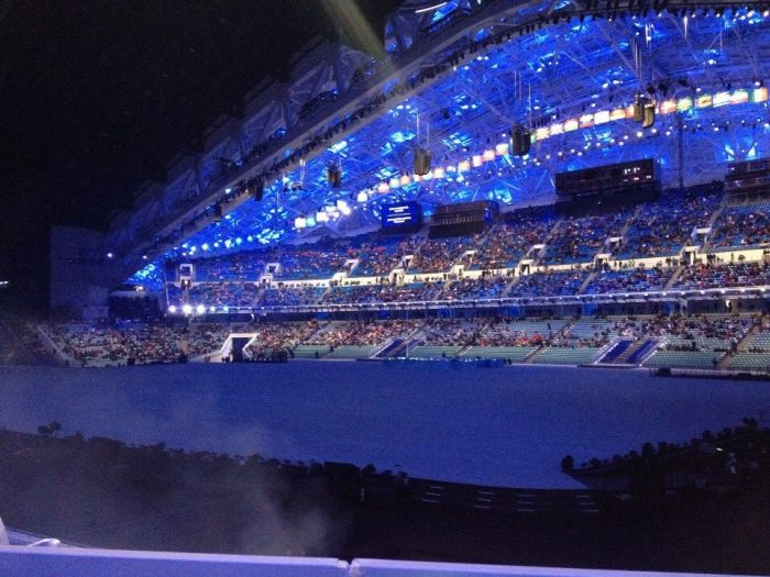 Генеральная репетиция церемонии открытия Олимпиады 2014 в Сочи (6 фото + видео)