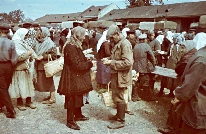 Украина в цвете. Фотографии 1942-43-х годов (51 фото)