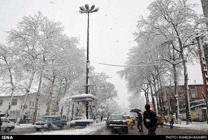 Сильнейший снегопад в Иране за последние 50 лет (45 фото)