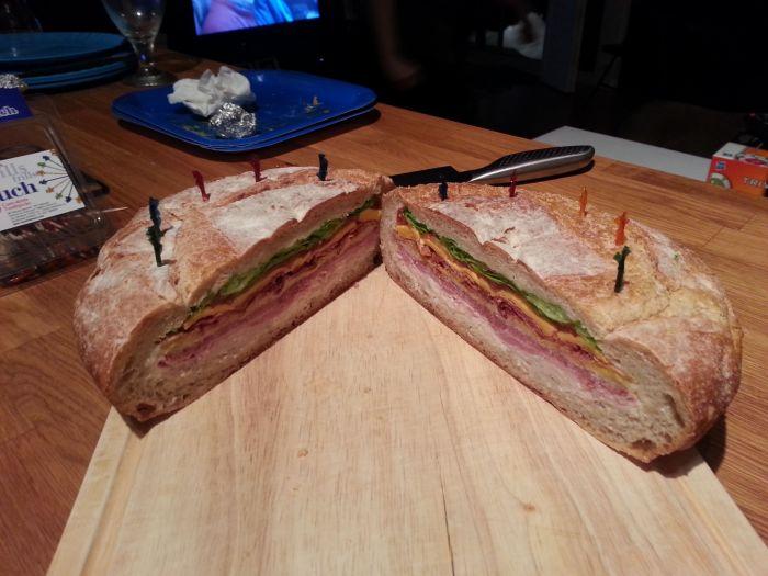 Настоящий мужской сэндвич (18 фото)