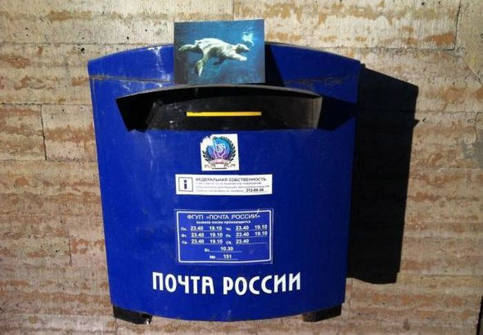 Удивительная история путешествия одной почтовой открытки (14 фото)