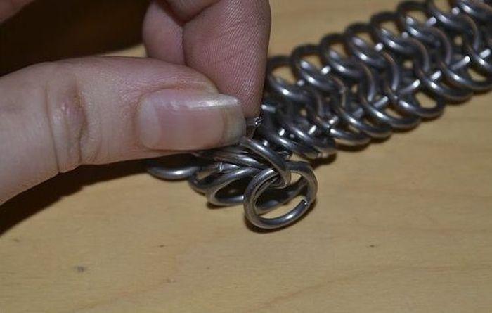 Кольчуга, сделанная своими руками (10 фото)