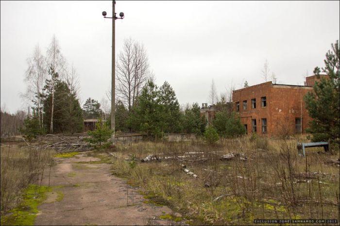 Прогулка в зону отчуждения Чернобыля (40 фото)