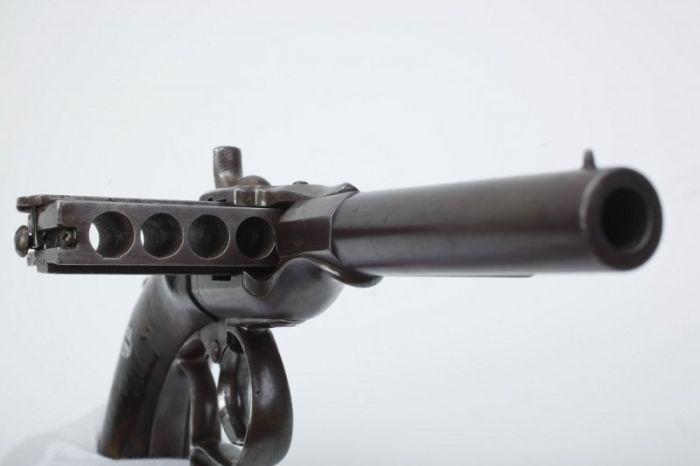 Пистолет Гармоника - оружие необычной конструкции (4 фото)