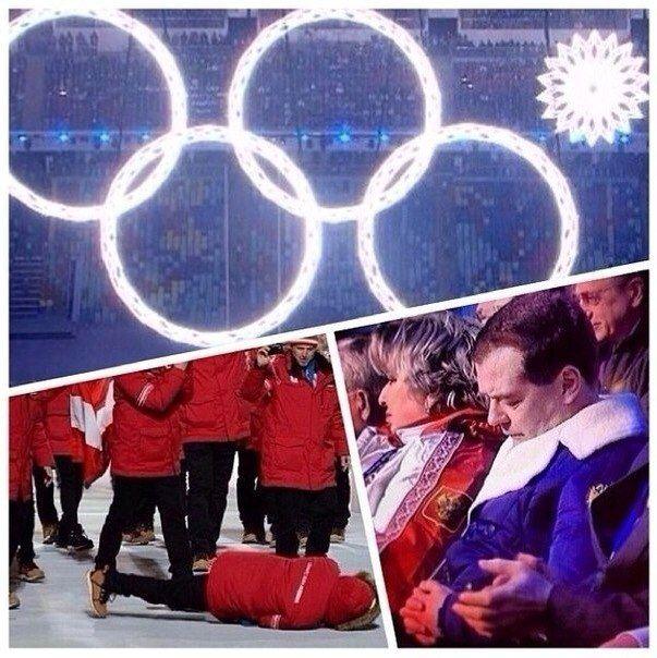 Дмитрий Медведев заснул на открытии Олимпийских игр в Сочи 2014 (12 фото + видео)