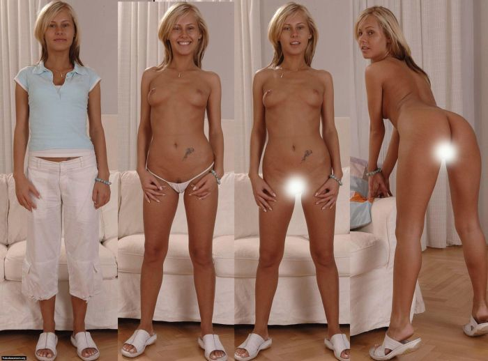 Девушки в одежде и без нее. Часть 3 (20 фото)