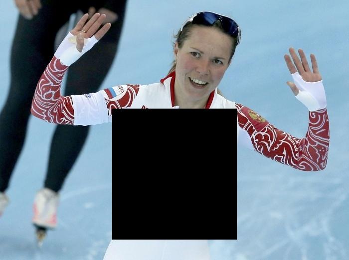 Бронзовая медалистка Ольга Граф показала стриптиз