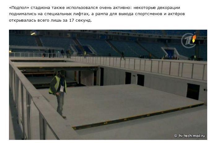 Интересные факты об открытии Олимпиады 2014 в Сочи (22 фото)