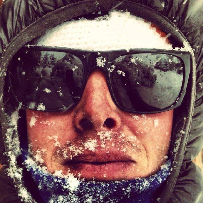 Джастин Райтер - сноубордист, который прожил последний год в машине (11 фото)