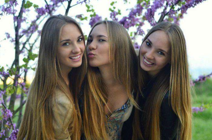 Подборка фотографий с милыми девушками (50 фото)