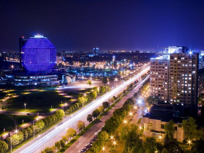 Национальная библиотека Беларуси (10 фото)