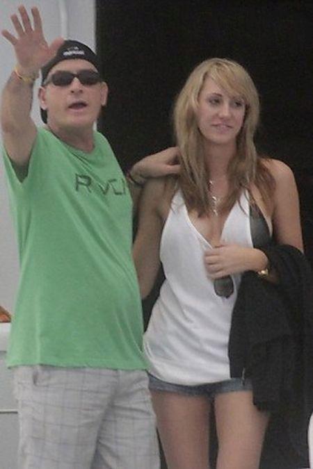 Актёр Чарли Шин женится на порнозвезде Бретт Росси (41 фото)
