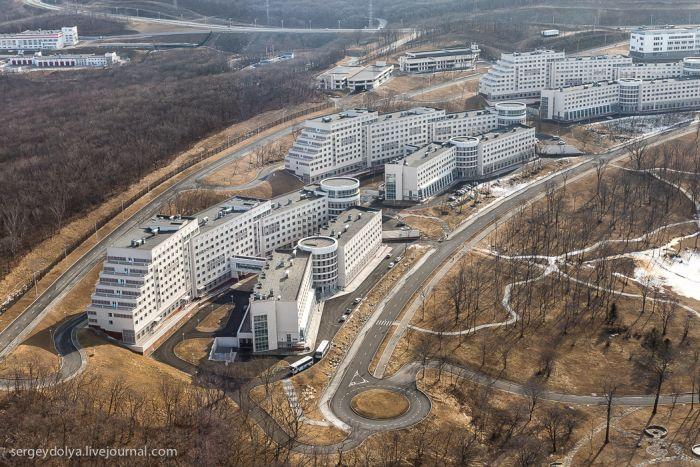 Владивосток с высоты птичьего полета (40 фото)