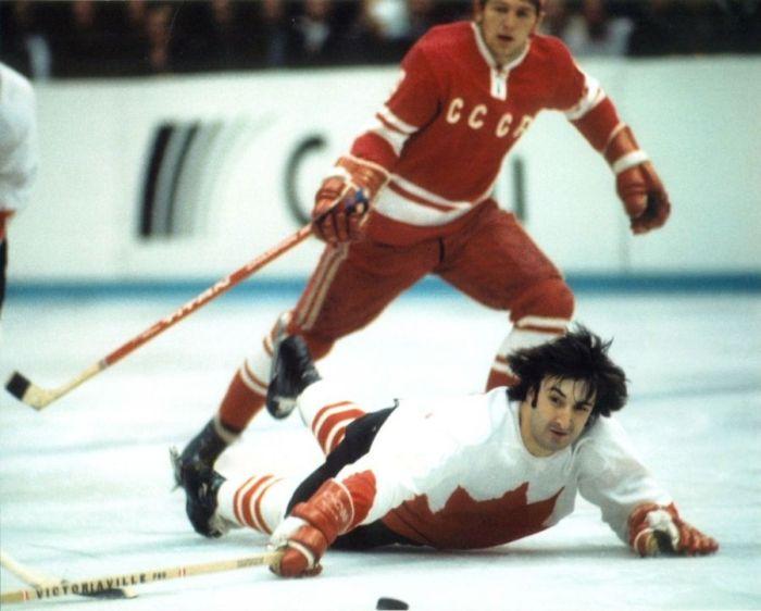 Хоккей СССР - Канада. Как это было... (40 фото)