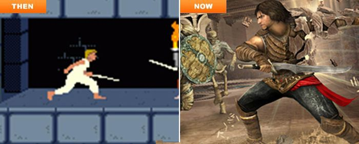 Как изменялись компьютерные игры (23 фото)