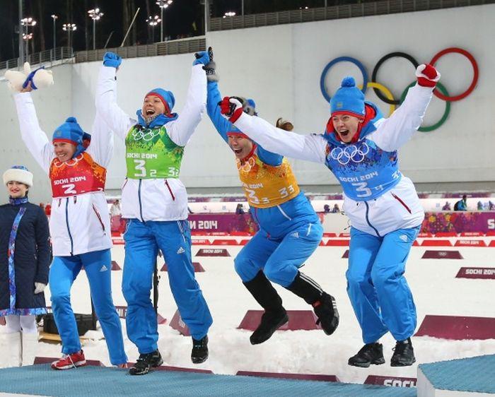 Кто выигрывал медали для России на Олимпийских игр 2014 в Сочи (28 фото)