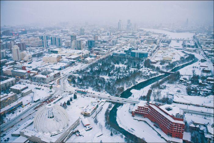 Российский руфер рассказал о всех своих восхождениях (20 фото)