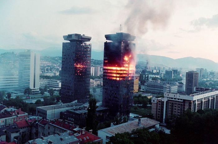 Ад в Боснии. 1992 - 1995 года (15 фото + текст)