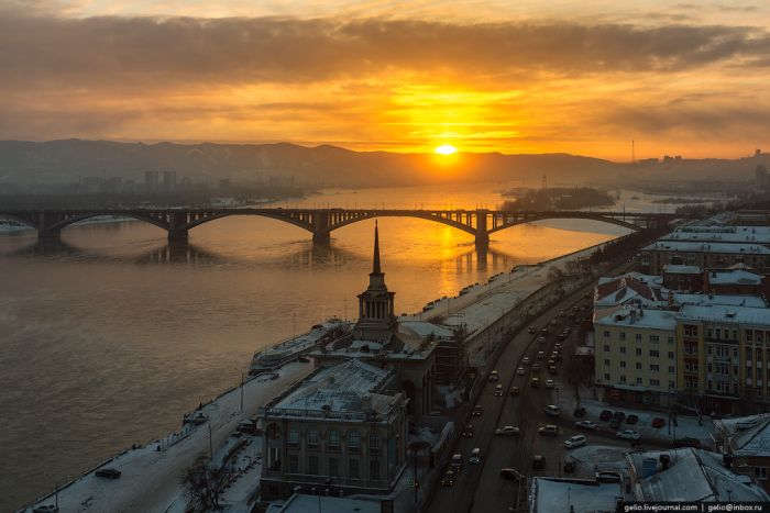 Фотографии из зимнего Красноярска (47 фото)