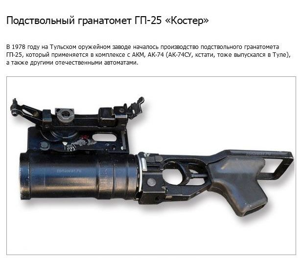 10 самых известных образцов продукции Тульского оружейного завода (18 фото)
