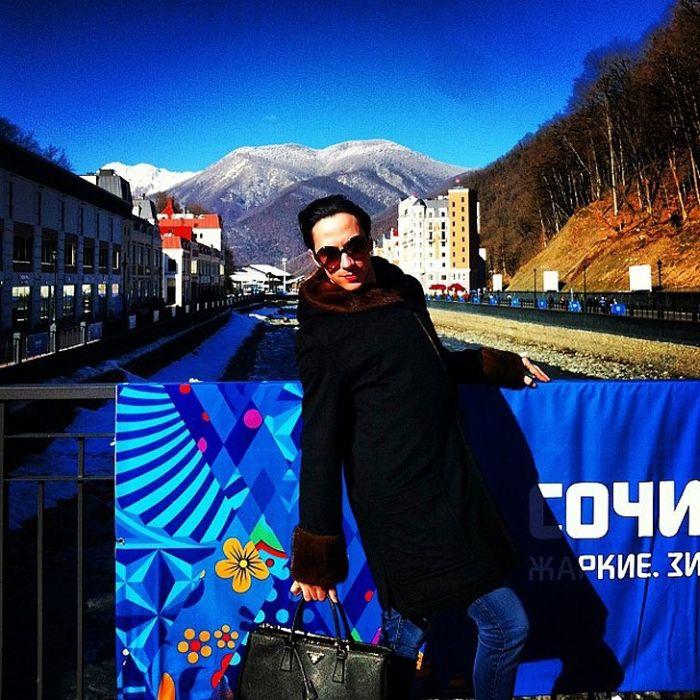 Американский фигурист Джонни Вейр на Олимпиаде в Сочи (14 фото)
