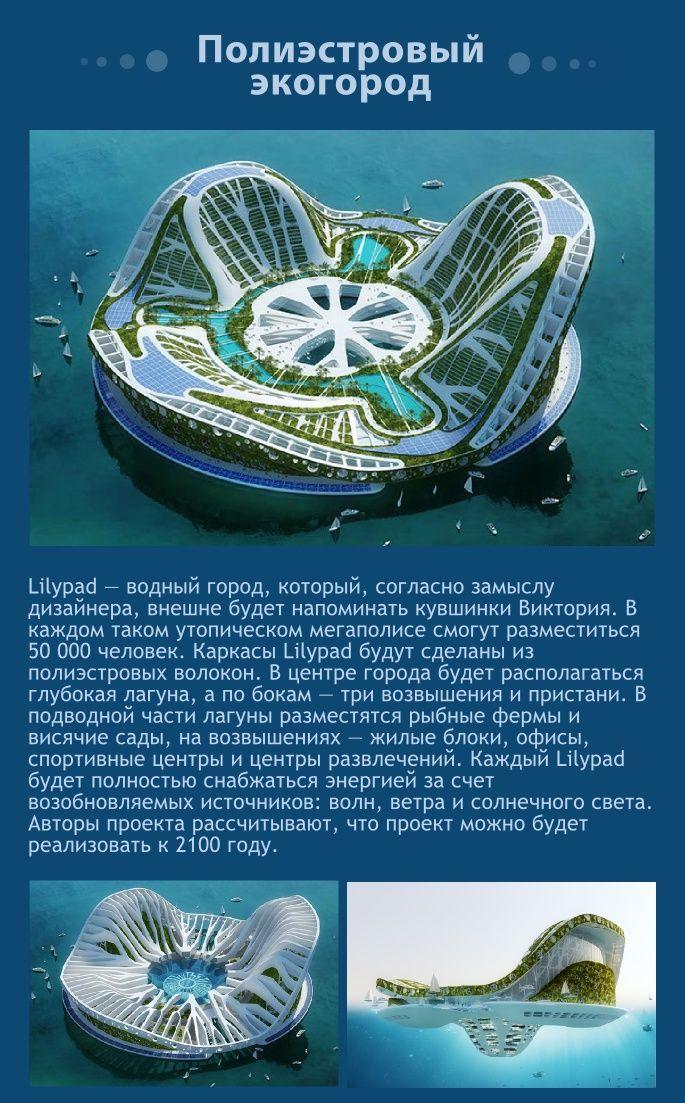 Интересные проекты для строительства на воде (9 фото)