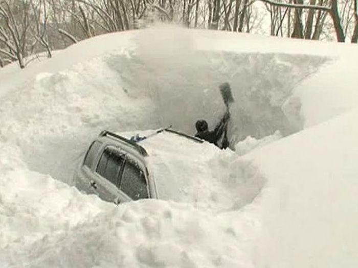 Стадии русской зимы. Весна уже на пороге! (21 фото)