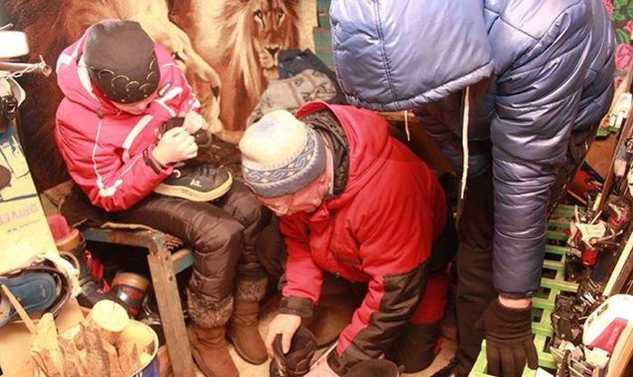 """Необычный горнолыжный курорт """"У дяди Пети"""" в Сорочинске (11 фото + видео)"""