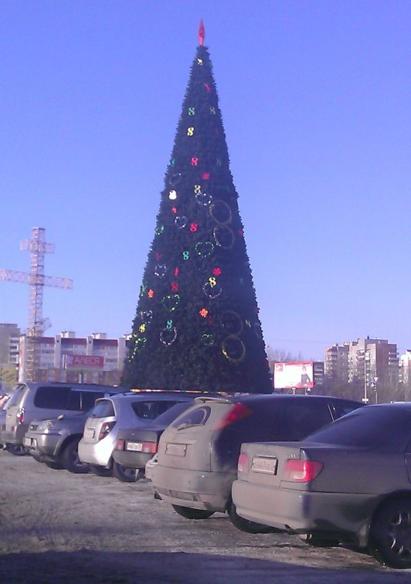 Омск к 8-му марта - готов! (1 фото)