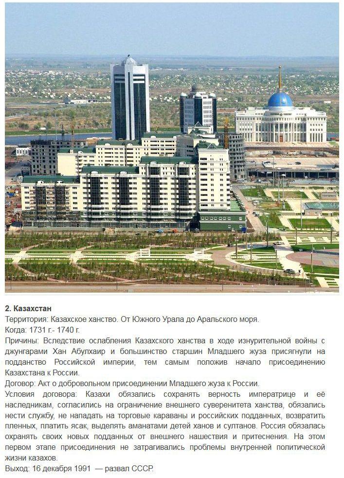 Иностранные территории, которые добровольно присоединились к России (8 фото)
