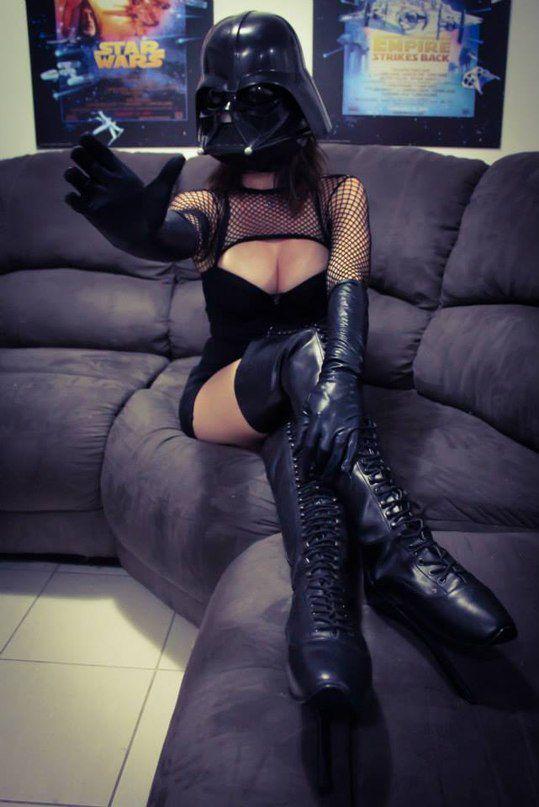 Сексуальный косплей Дарта Вейдера (9 фото)