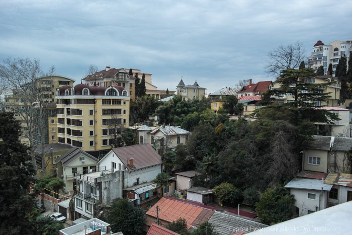 Сочи 2014: город-призрак новой недвижимости (20 фото)