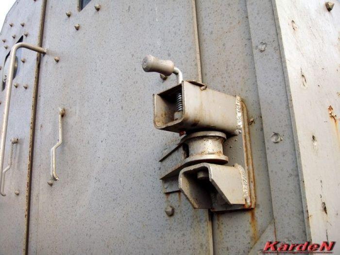 """Специальный бронированный автобус """"Горец"""" (42 фото)"""