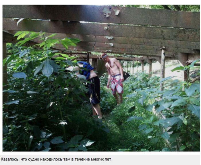 Пропавший без вести корабль-призрак на реке Огайо (14 фото)