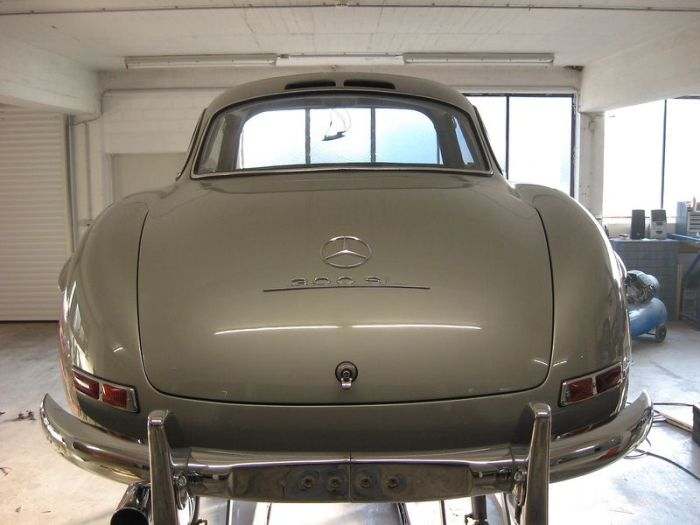 """Легендарный Mercedes 300SL """"Gullwing"""" своими руками (87 фото)"""