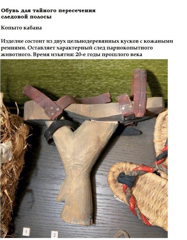Креативные вещи на полках пограничного музея ФСБ (19 фото)