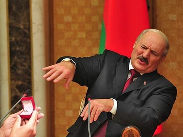 """Лукашенко заявил, что не признает проект """"Новороссия"""", и выступил за единство и целостность Украины - Цензор.НЕТ 1885"""