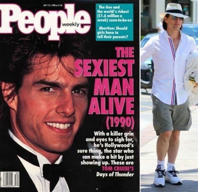 Как изменились секс-символы прошлых десятилетий (13 фото)