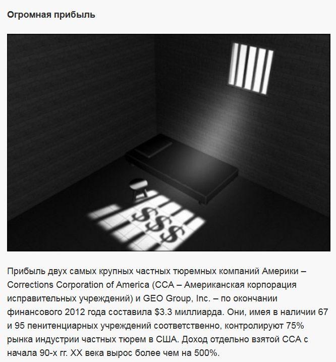 Вся правда об американских тюрьмах (9 фото)