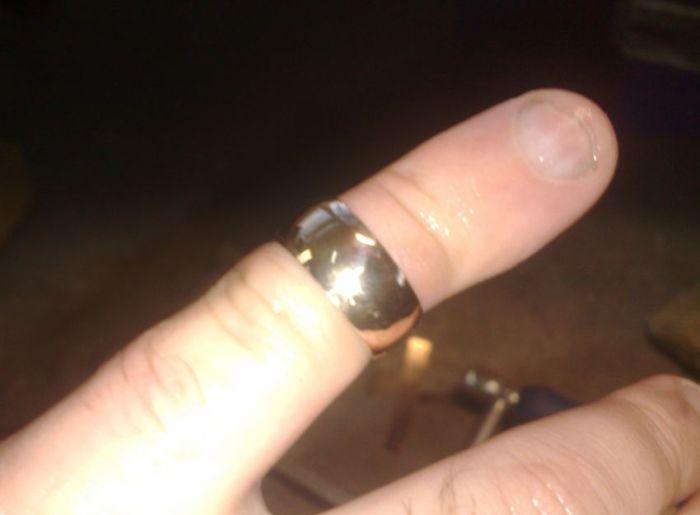 Делаем обручальное кольцо своими руками (21 фото)